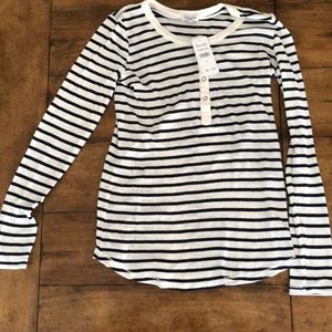 Splendid stripe long sleeve top